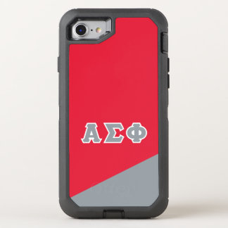 Alpha Sigma Phi | Greek Letters OtterBox Defender iPhone 7 Case