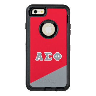 Alpha Sigma Phi | Greek Letters OtterBox Defender iPhone Case