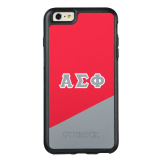 Alpha Sigma Phi | Greek Letters OtterBox iPhone 6/6s Plus Case