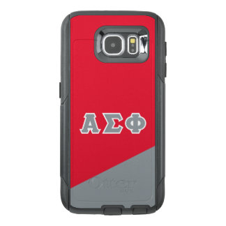 Alpha Sigma Phi   Greek Letters OtterBox Samsung Galaxy S6 Case