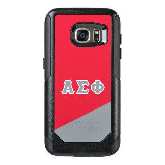 Alpha Sigma Phi   Greek Letters OtterBox Samsung Galaxy S7 Case