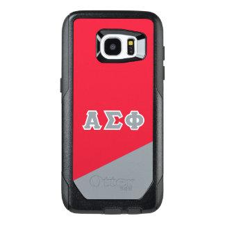 Alpha Sigma Phi   Greek Letters OtterBox Samsung Galaxy S7 Edge Case