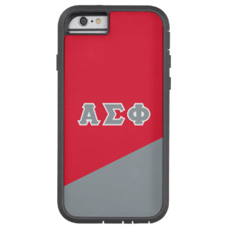 Alpha Sigma Phi | Greek Letters Tough Xtreme iPhone 6 Case