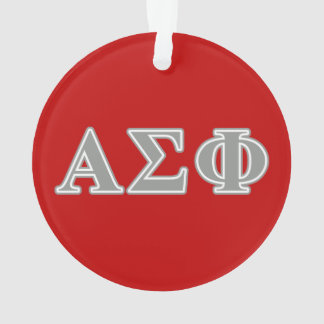 Alpha Sigma Phi Grey Letters