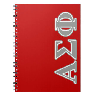 Alpha Sigma Phi Grey Letters Note Books