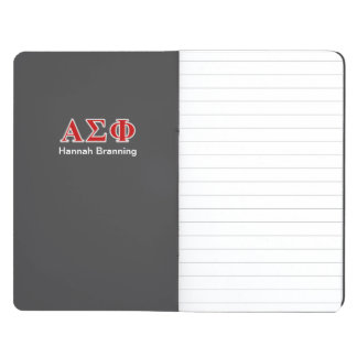 Alpha Sigma Phi Red and Grey Lettes Journals