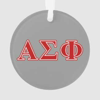 Alpha Sigma Phi Red Letters