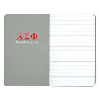 Alpha Sigma Phi Red Letters Journals