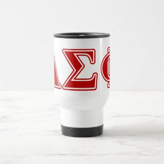Alpha Sigma Phi Red Letters Mug