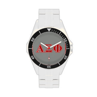 Alpha Sigma Phi Red Letters Watch