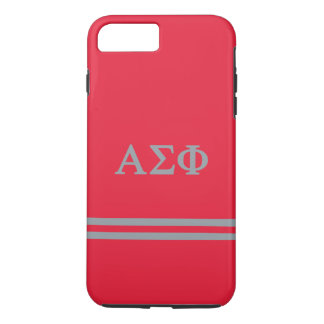Alpha Sigma Phi | Sport Stripe iPhone 7 Plus Case