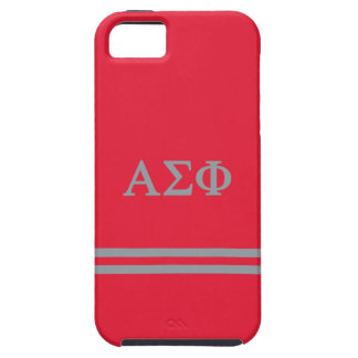 Alpha Sigma Phi | Sport Stripe iPhone SE/5/5s Case