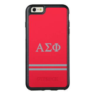 Alpha Sigma Phi | Sport Stripe OtterBox iPhone 6/6s Plus Case