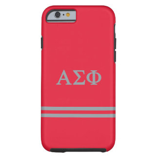 Alpha Sigma Phi | Sport Stripe Tough iPhone 6 Case