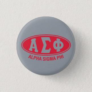 Alpha Sigma Phi   Vintage Button