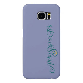 Alpha Sigma Tau Logo No Tagline Samsung Galaxy S6 Case