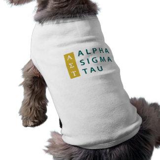 Alpha Sigma Tau Stacked T-Shirt