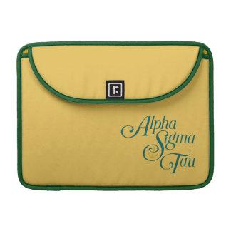 Alpha Sigma Tau Vertical Mark 2 Sleeve For MacBooks