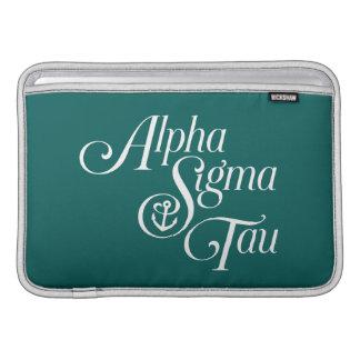 Alpha Sigma Tau Vertical Mark MacBook Sleeve