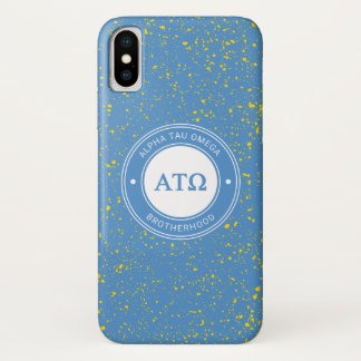 Alpha Tau Omega   Badge iPhone X Case