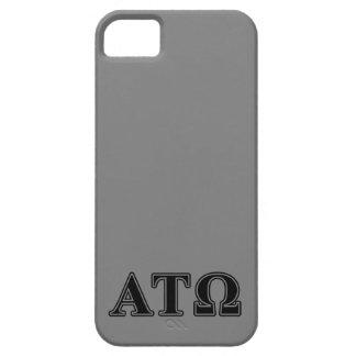 Alpha Tau Omega Black Letters iPhone SE/5/5s Case