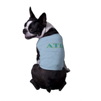 Alpha Tau Omega Blue and Yellow Letters T-Shirt