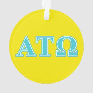Alpha Tau Omega Blue Letters
