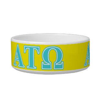 Alpha Tau Omega Blue Letters Bowl