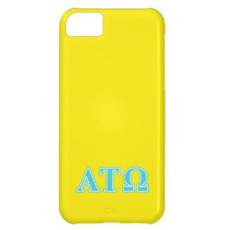 Alpha Tau Omega Blue Letters iPhone 5C Case