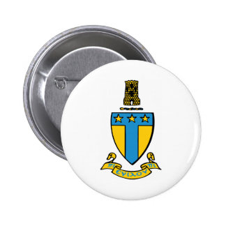 Alpha Tau Omega Color Crest 2 Inch Round Button