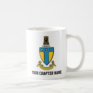 Alpha Tau Omega Color Crest Coffee Mug