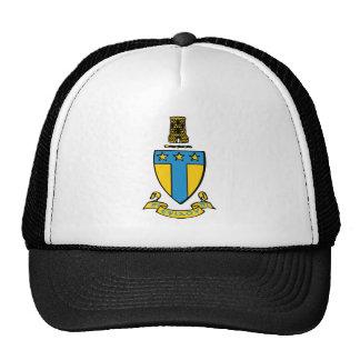 Alpha Tau Omega Color Crest Trucker Hat