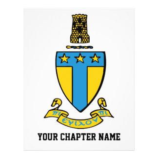Alpha Tau Omega Color Crest Personalized Flyer
