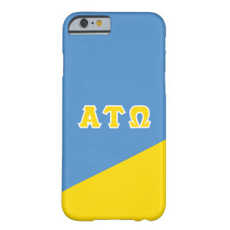 Alpha Tau Omega | Greek Letters Barely There iPhone 6 Case