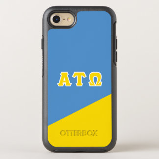 Alpha Tau Omega | Greek Letters OtterBox Symmetry iPhone 7 Case