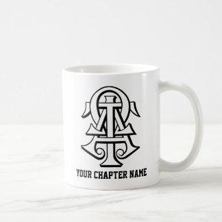 Alpha Tau Omega Interlocked Letters Mug