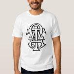 Alpha Tau Omega Interlocked Letters T Shirts