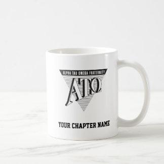 Alpha Tau Omega Name and Letters Coffee Mug