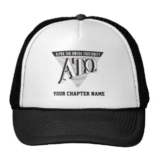 Alpha Tau Omega Name and Letters Trucker Hat