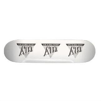 Alpha Tau Omega Name and Letters Skateboard Deck