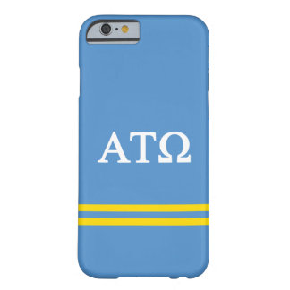 Alpha Tau Omega | Sport Stripe Barely There iPhone 6 Case