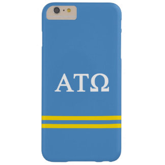 Alpha Tau Omega | Sport Stripe Barely There iPhone 6 Plus Case