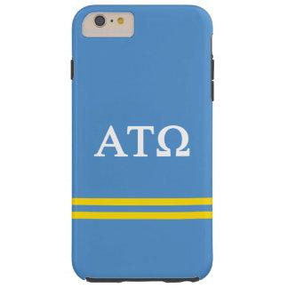 Alpha Tau Omega   Sport Stripe Tough iPhone 6 Plus Case