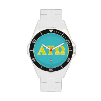 Alpha Tau Omega Yellow Letters Watches