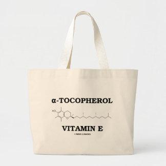 alpha-Tocopherol Vitamin E (Chemical Molecule) Canvas Bag