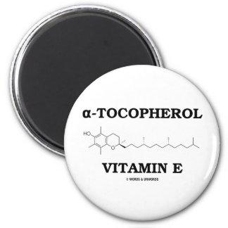 alpha-Tocopherol Vitamin E (Chemical Molecule) Magnets
