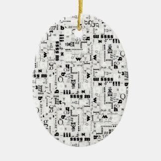 Alpha Type Ceramic Ornament