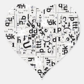 Alpha USA Heart Sticker