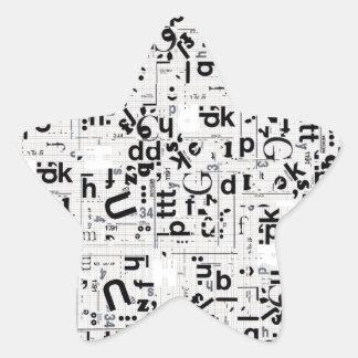 Alpha USA Star Sticker