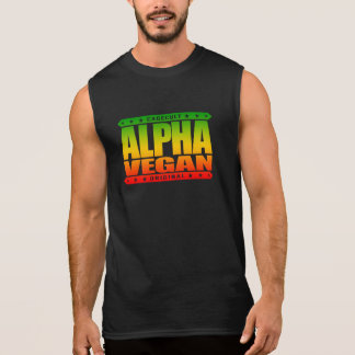 ALPHA VEGAN - Fruit You! All Veggie Haters, Rasta Sleeveless Shirt